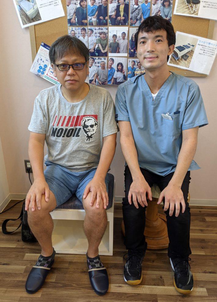 『病院で診てもらっても改善しなかった五十肩が』